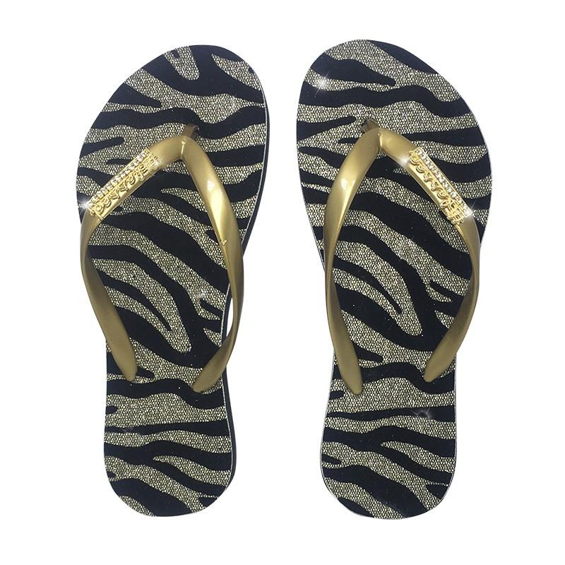 Blessed Strass Zebra Dourado