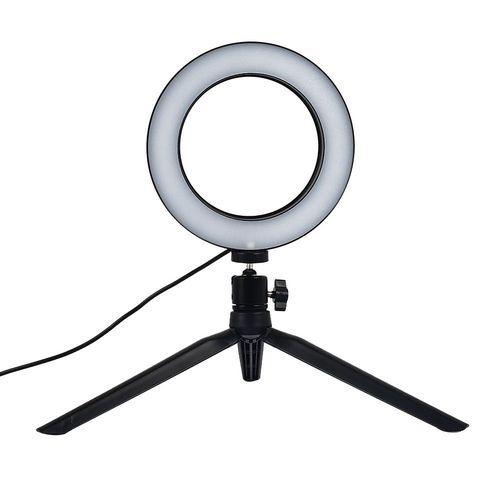 Abajour Ring Light Para Maquiagem 16cm  - A ELETRICA ONLINE