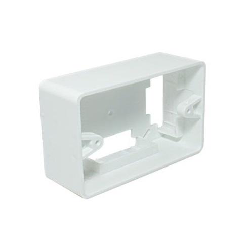 Caixa De Luz  Retangular 2x4 Externa Branca