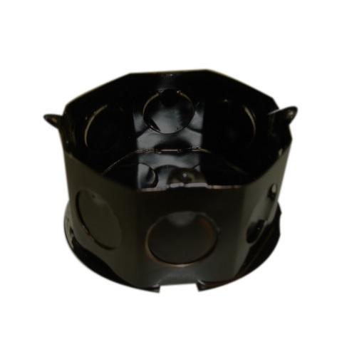 Caixa De Luz Octogonal 3x3 Interna Metal