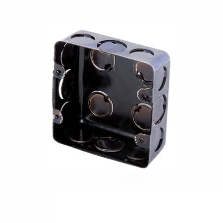 Caixa De Luz Quadrada 4x4 Interna Metal