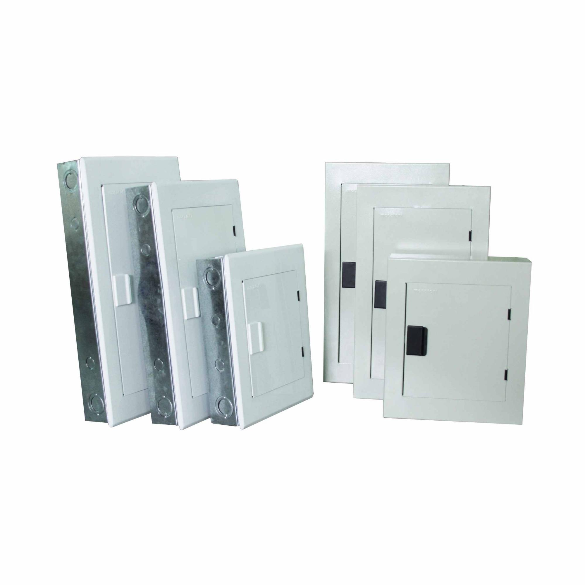 Quadro De Distribuição Sob Metal 18 Disj C/ Barr 100a