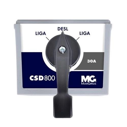 Chave Motor Liga/Desliga/Liga 30amp Csd-830