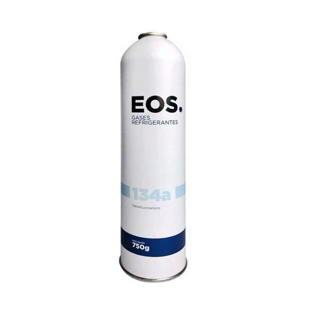 Cilindro Gas R134a Eos - Onu 3159 Gas Liquefeito 750g