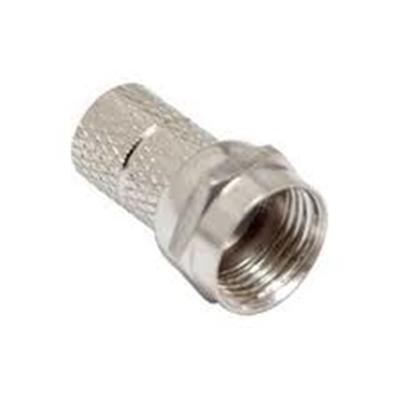 Conector Coaxial C/ Rosca Rg59   - A ELETRICA ONLINE