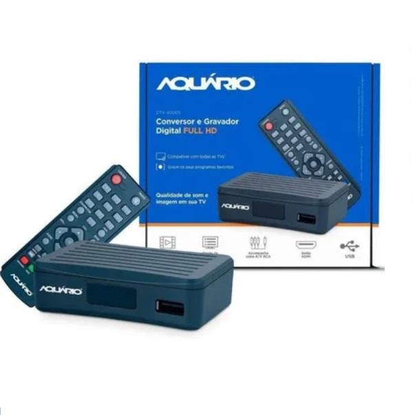 Conversor Tv Digital Full Hd Dtv-4000 Aquário