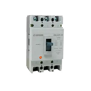 Disjuntor Caixa Moldada Dl100-X -  80a Soprano   - A ELETRICA ONLINE