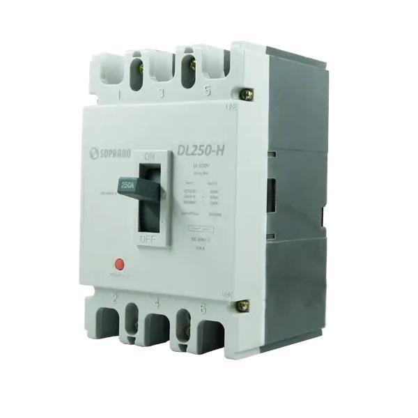 Disjuntor Caixa Moldada Dl250-X - 150a Soprano