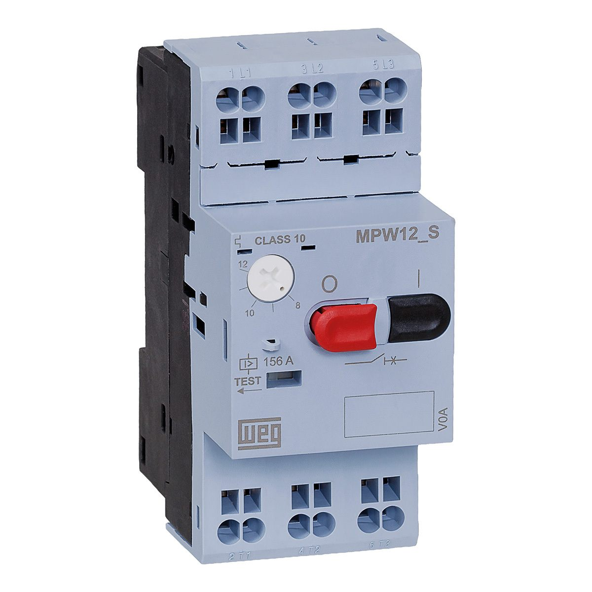 Disjuntor Motor Weg Az Mpw12-3-U012s 8-12a   - A ELETRICA ONLINE