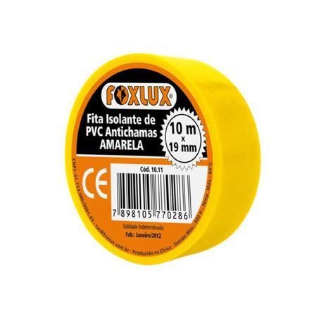 Fita Isolante 19mm X 10mt Amarela