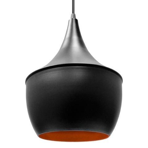 Pendente Aluminio Balao Tom Dixon Preto/Cobre