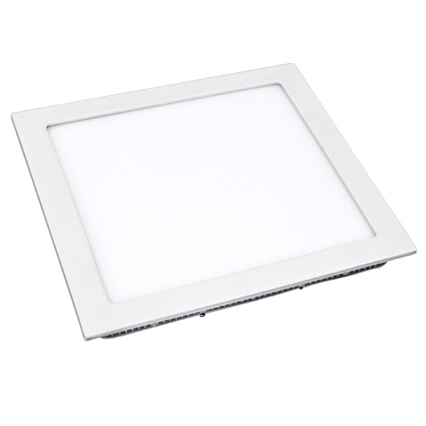 Plafon Led Flat Embutir Quadrado 12w 6500k