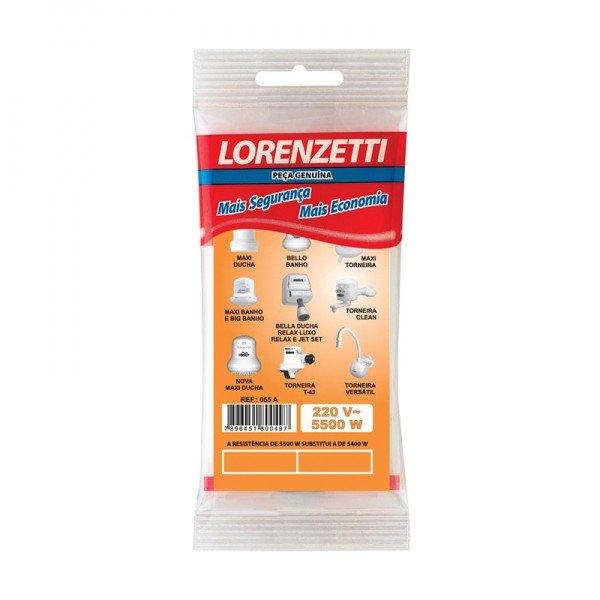 Resistencia Lorenzetti 5500w Md/J3/T43 055a   - A ELETRICA ONLINE