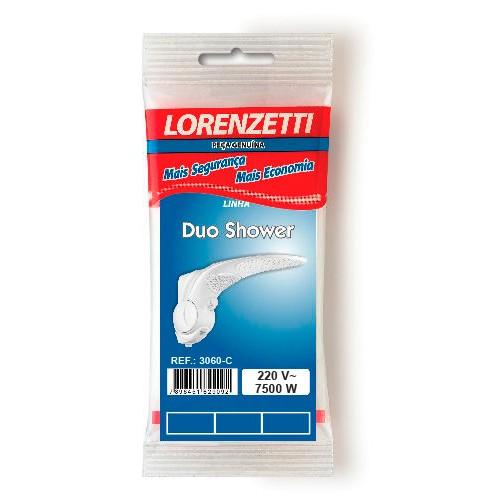 Resistencia Lorenzetti 7500w 220v Duo Shower/Futura 3060-C   - A ELETRICA ONLINE
