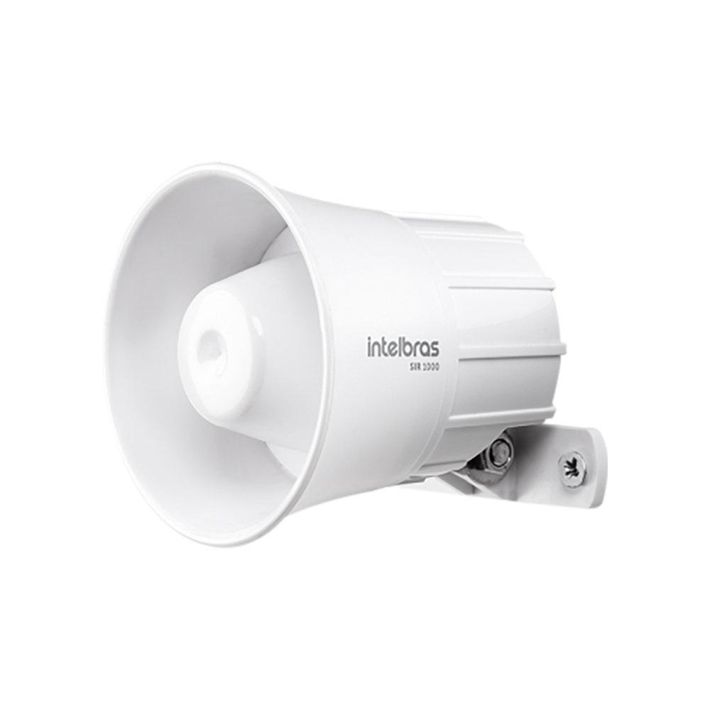Sirene Alarme Intelbras 105 Db - Sir 1000 9 A 15vdc Branca