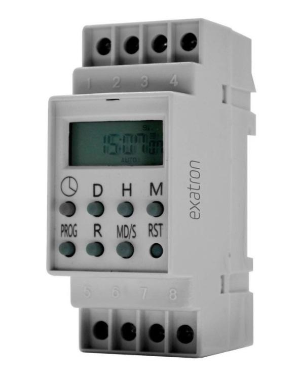 Timer Trilho Din Digital Autovolt 32mm