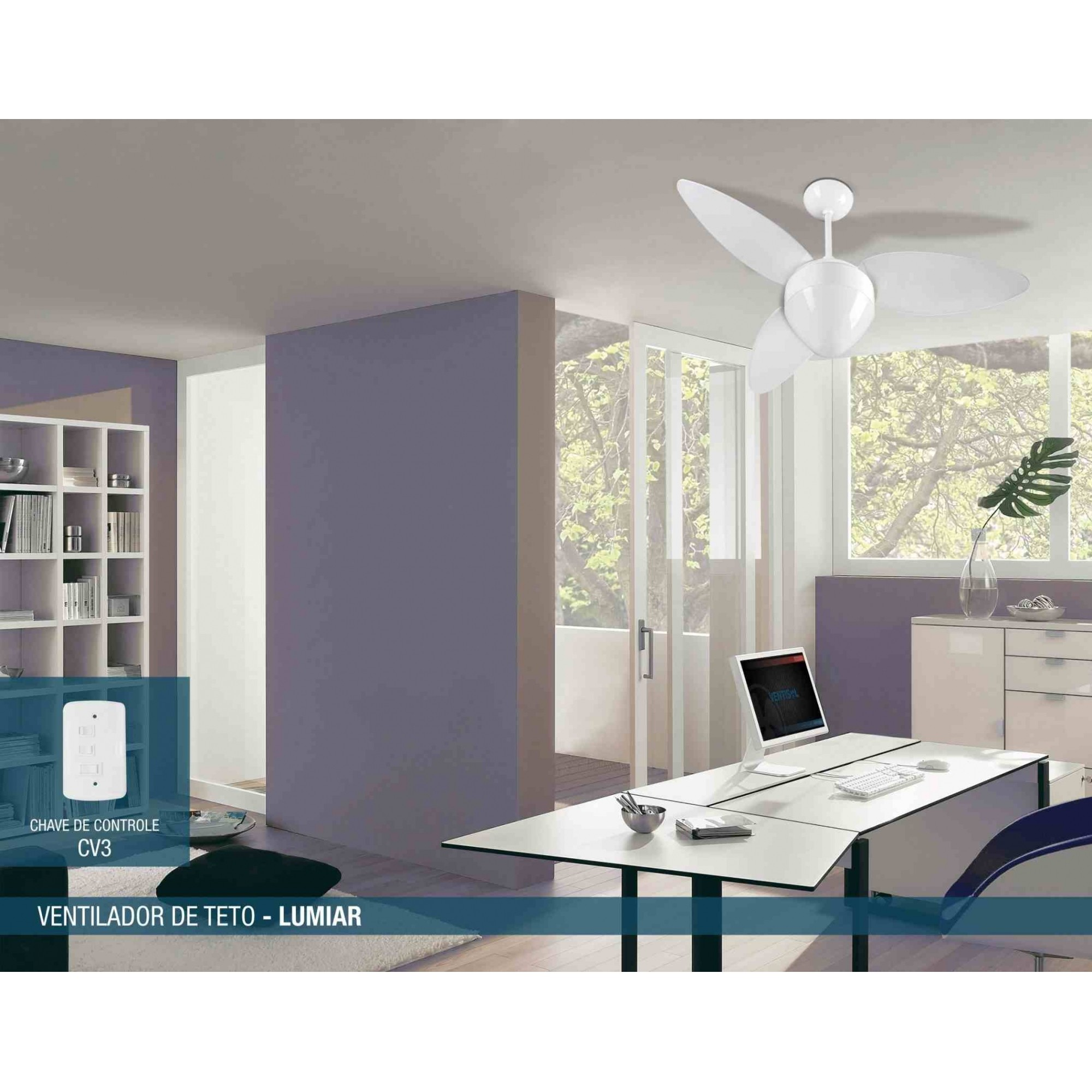Ventilador Teto Aires Branco 3p Cv3 220v Premium   - A ELETRICA ONLINE