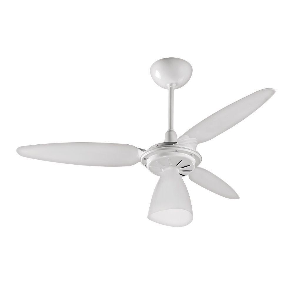 Ventilador Teto Wind Light Branco Inj Cv3 220v Premium