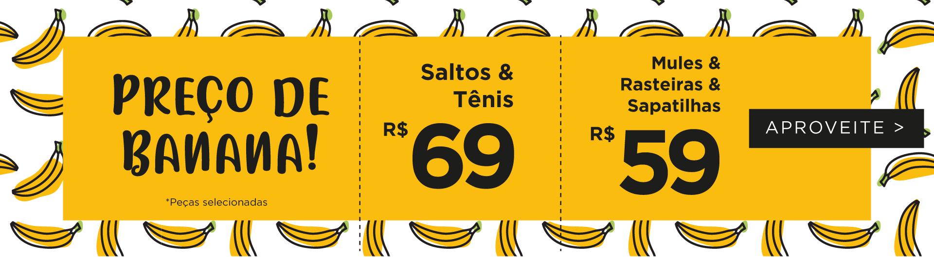 Preço de Banana