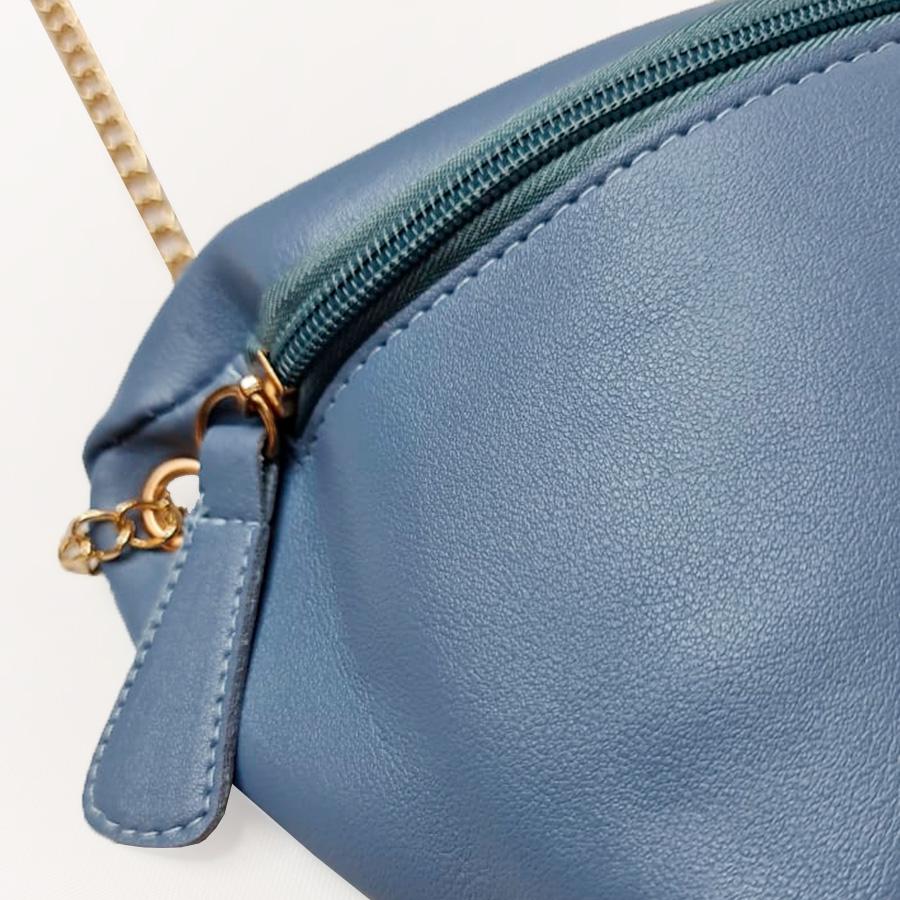 Bolsa Estilo Pochete Azul