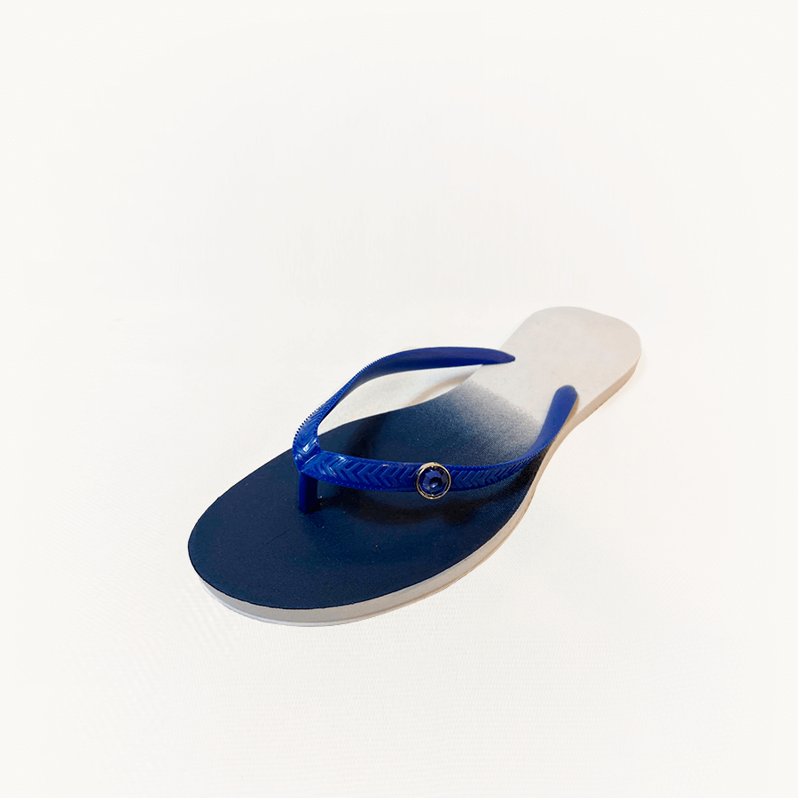 Chinelo Pingente Azul