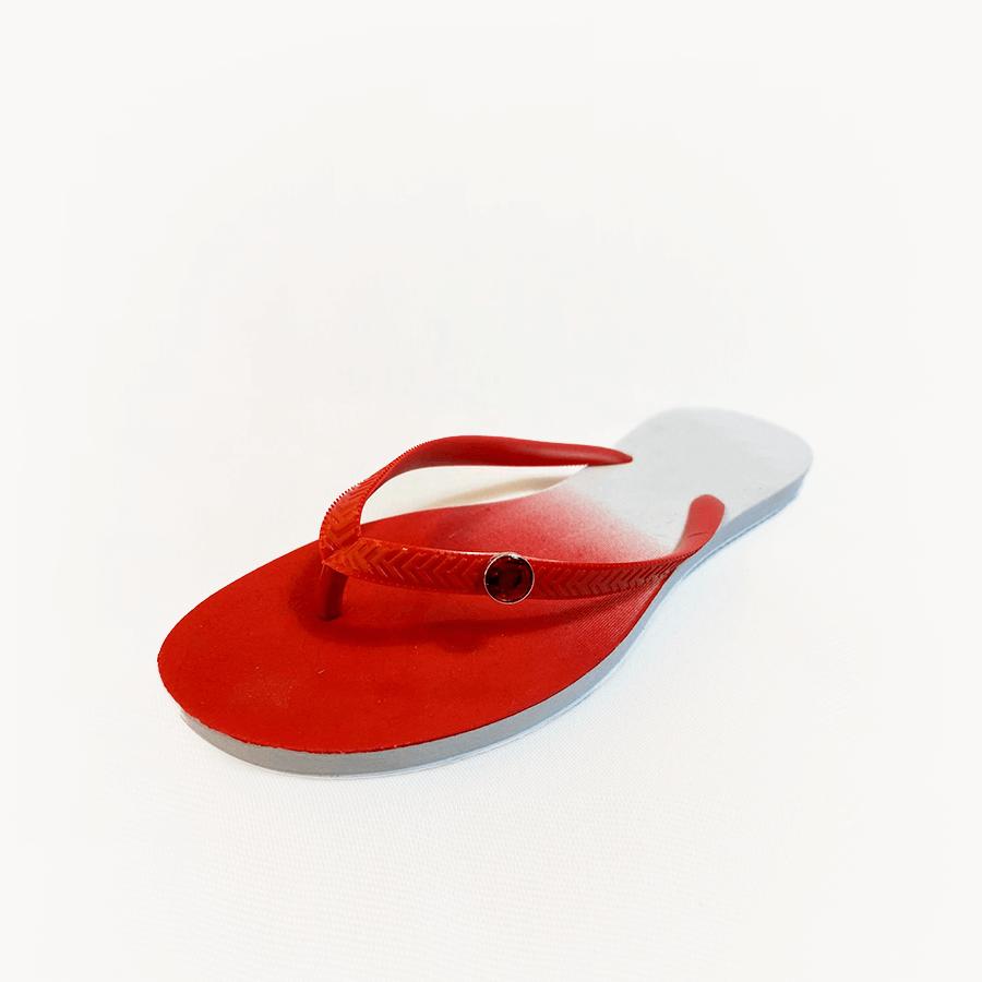 Chinelo Pingente Vermelho