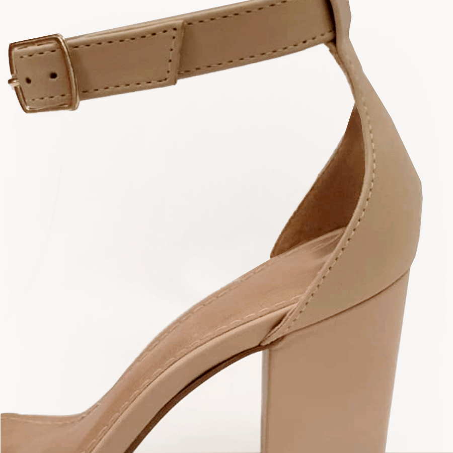 Sandália Clássica Nude