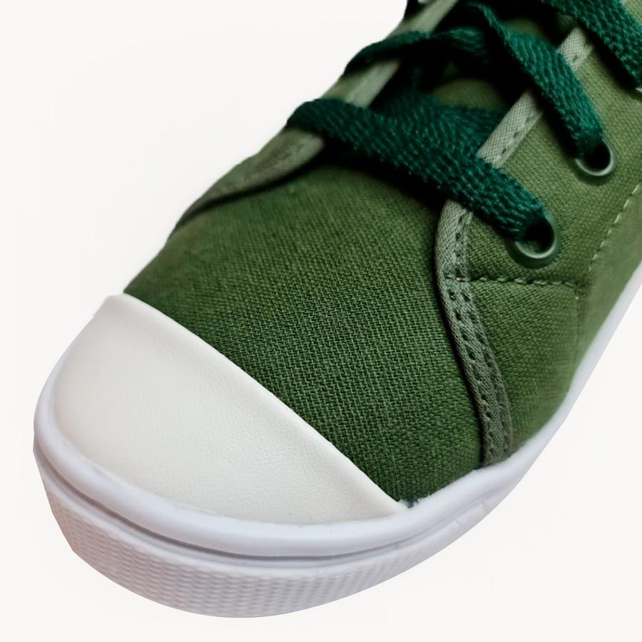 Tênis Básico Lona Verde
