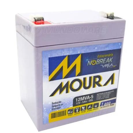 Bateria Estacionária Para Nobreak 12v 5ah VRLA
