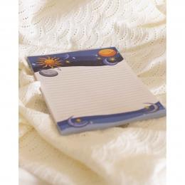 bloco de notas anoitecer