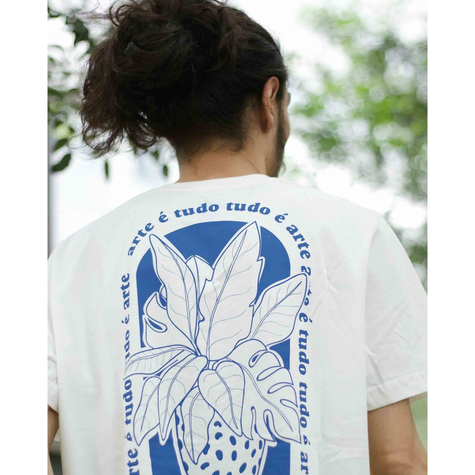 camiseta arte é tudo tudo é arte