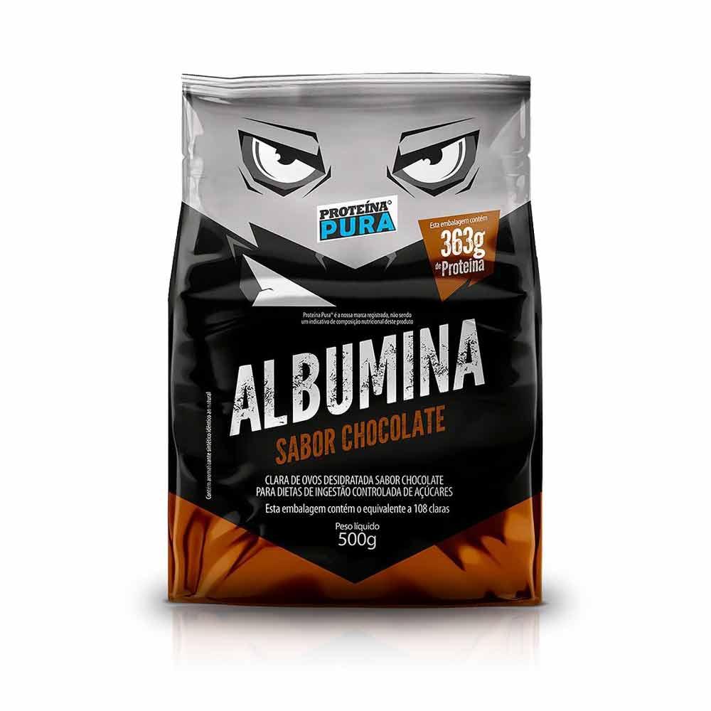 Albumina 500G - Proteína Pura