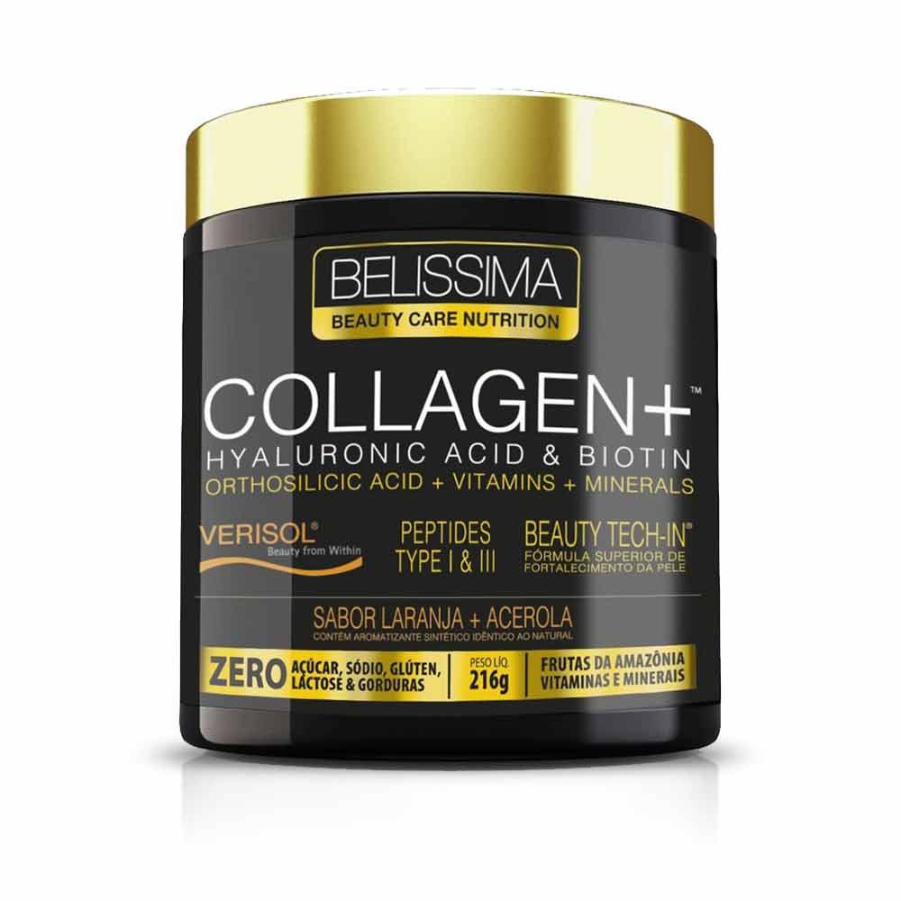 Collagen + Colágeno Verisol 216G Laranja e Acerola - Belissima