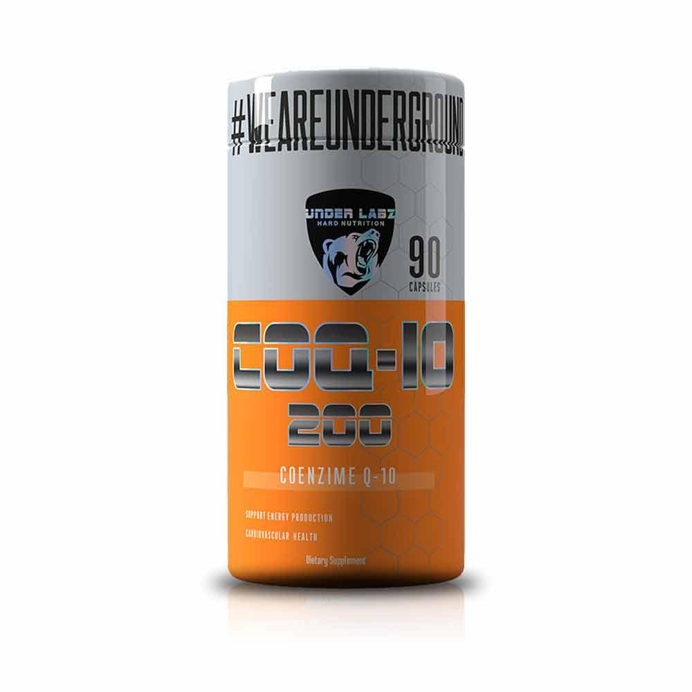 COQ-10 200 90Caps - Under Labz