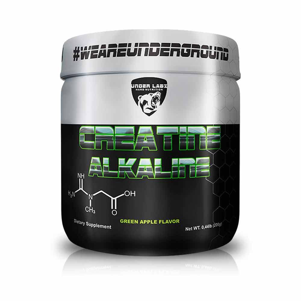 Creatine Alkaline 200G Maçã Verde - Under Labz