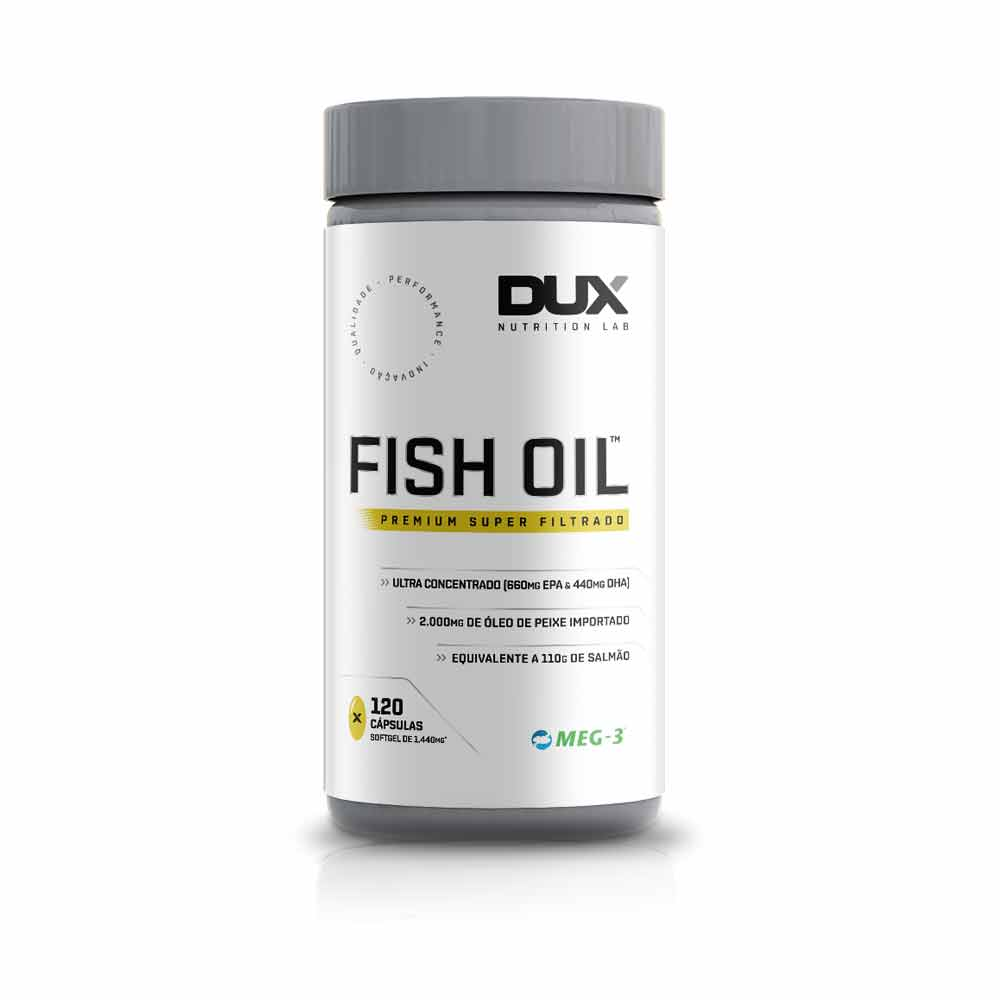 Fish Oil 1000Mg 120 Cápsulas - Dux