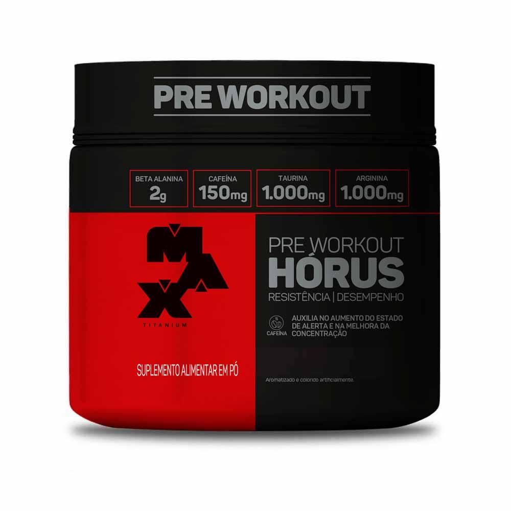 Horus Pre Workout 150G - Max Titanium