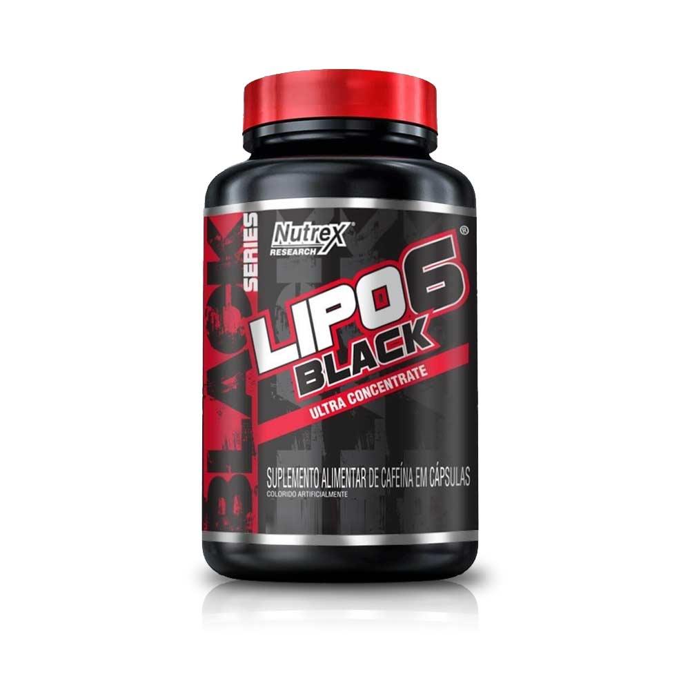 Lipo 6 Black Ultra Concentrate 120Caps - Nutrex