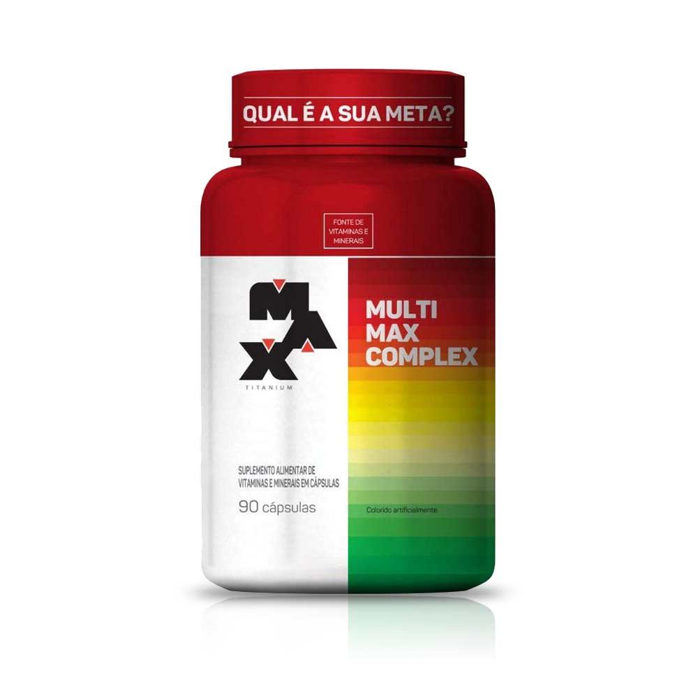 Multimax Complex 90Caps - Max Titanium