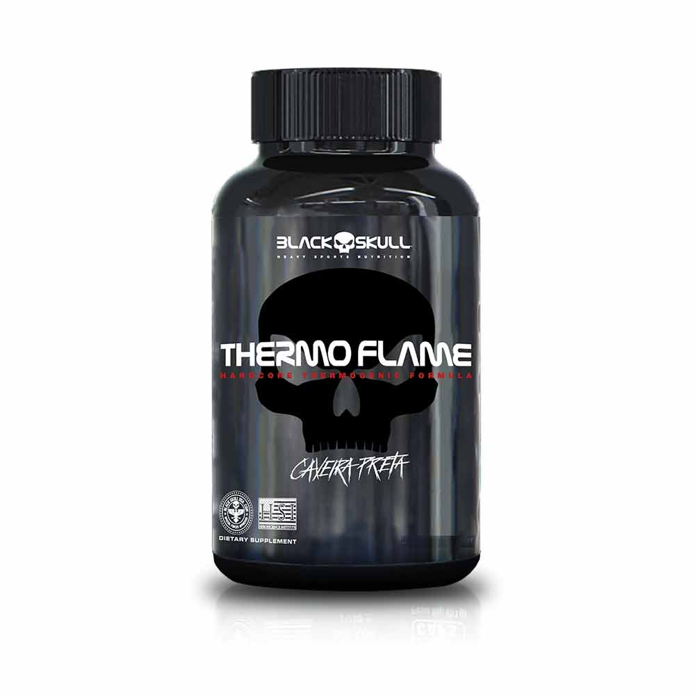 Thermo Flame 120Tabs - Black Skull