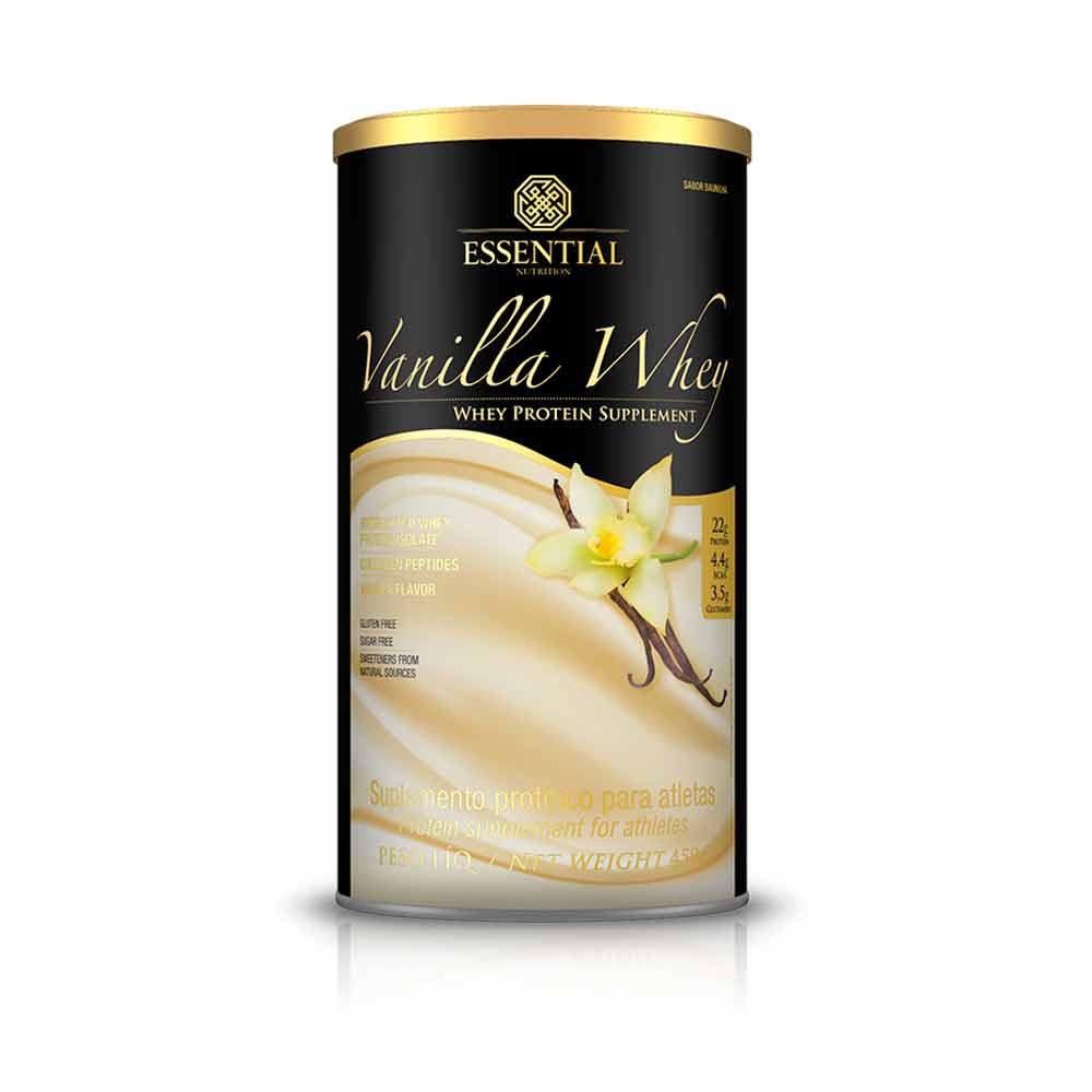 Vanilla Whey 450G - Essential