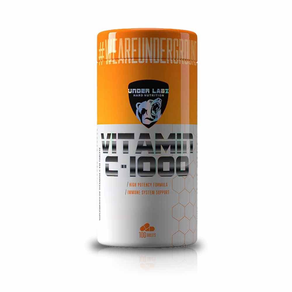Vitamin C 1000 100 Tablets - Under Labz
