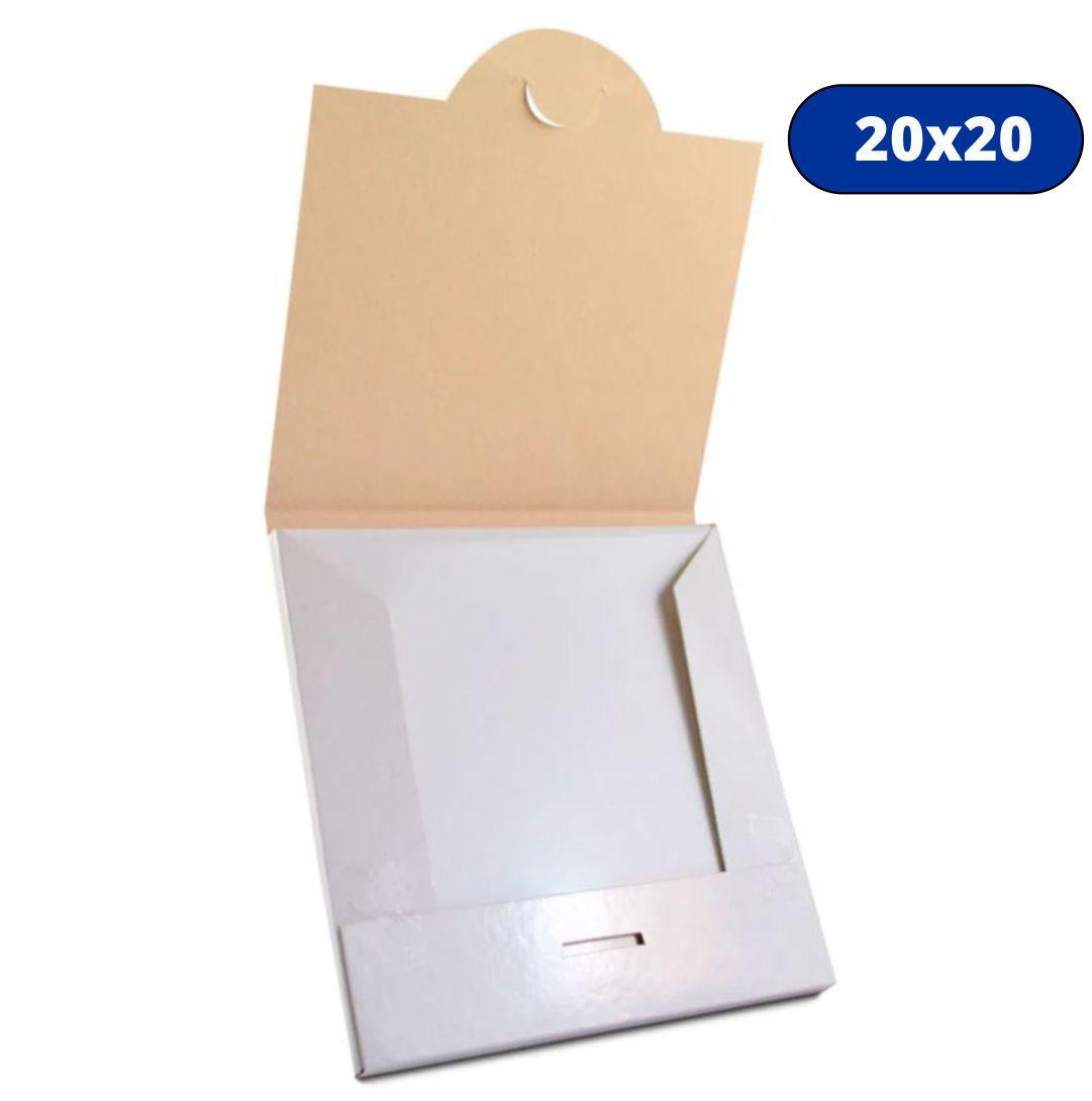 Caixa Para Azulejo Branca - 20x20 - Papelão
