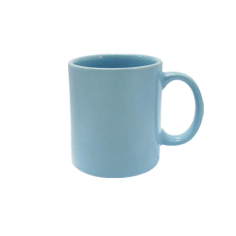 Caneca de Cerâmica Azul Para Sublimação - Sublime - 300ml