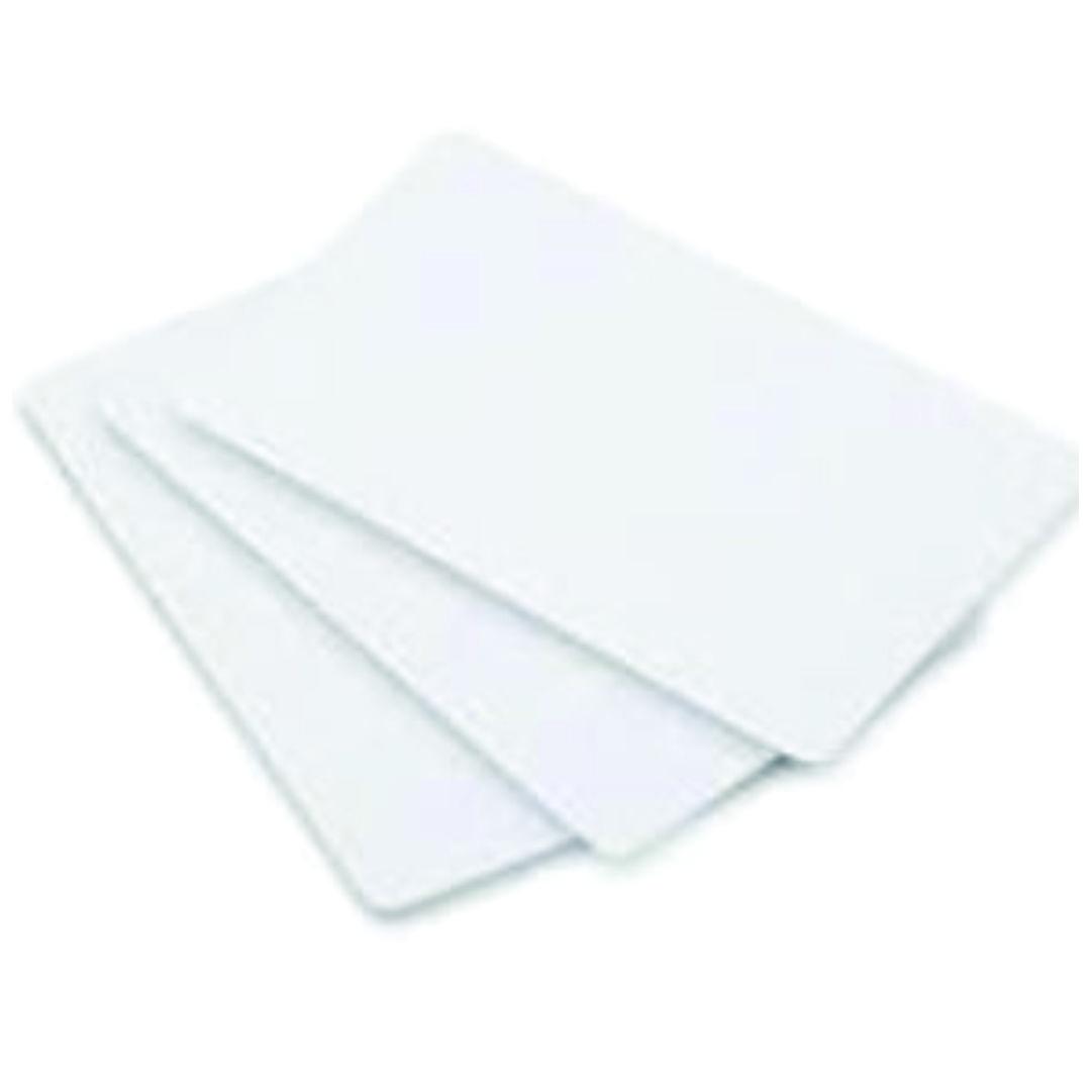 Cartão de PVC Branco Para sublimação - 9x5