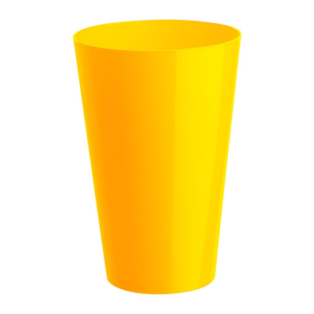 Copo Caldereta Amarelo Canário - 600ml