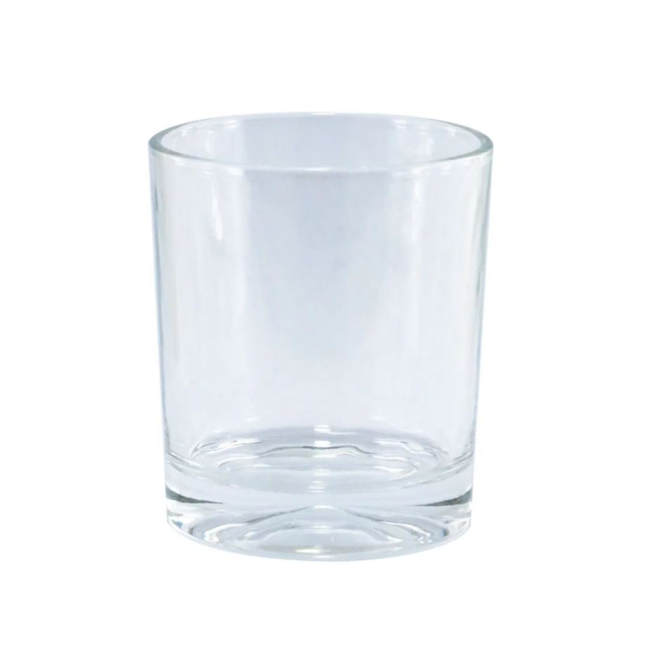 Copo de Whisky em Vidro Cristal Para Sublimação - 250ml - Live Sub