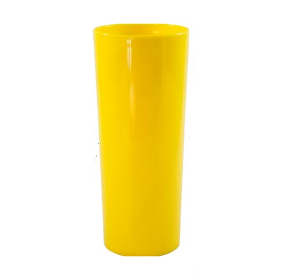 Copo Long Drink Amarelo Canário