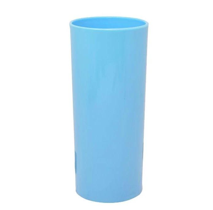 Copo Long Drink Azul Bebê