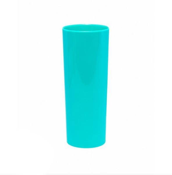 Copo Long Drink Azul Tiffany